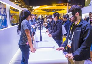 Samsung Gear VR Trade Show Booth | VOXX Exhibits