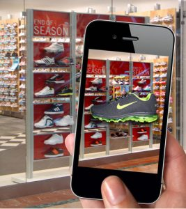 AR Nike Retail Installation